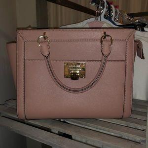 Dusty rose Michael Kors purse